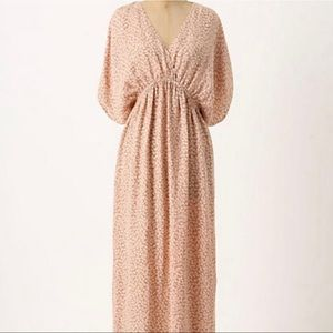 Anthropologie Addison story maxi dress L